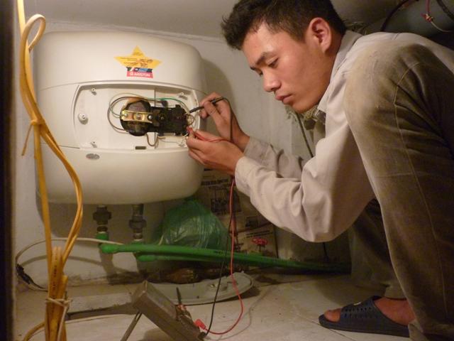 Sửa bình nóng lạnh, sửa chữa bình nóng lạnh tại nhà | Hà Nội: 0975552608
